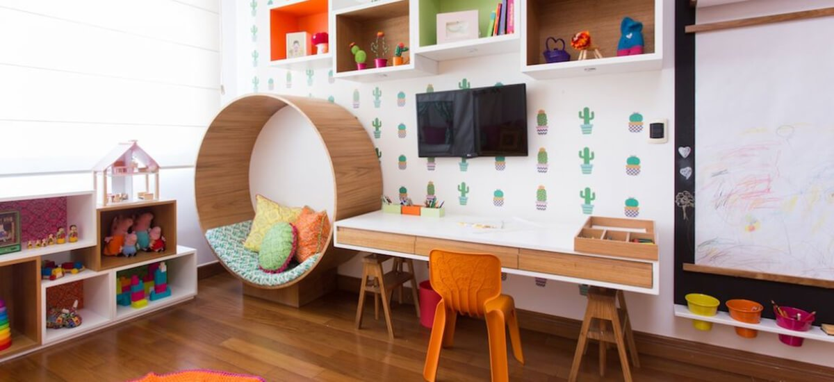 kids reading nook idea