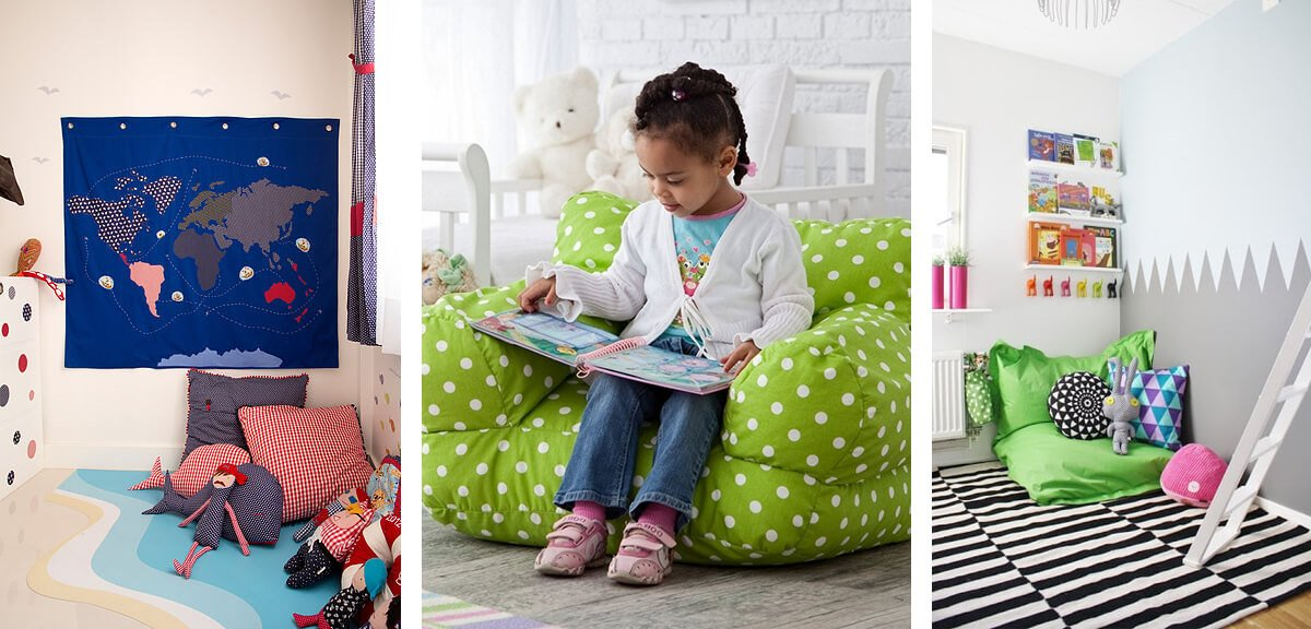 simple reading nook ideas for kids